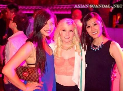 kksmi (Kathleen Tsai) asian and white bf couple