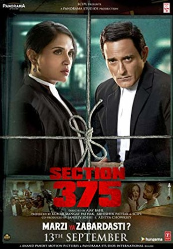 Section 375 (2019) 720p - HDRip - x264 - DDP 5.1 - ESub-BWT