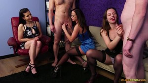PureCFNM 19 11 15 Abigail Angel Tindra Frost And Vinna Reed Mail Order Husbands XXX 720p WEB x264