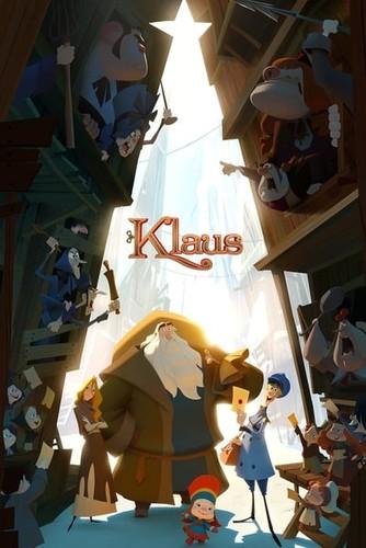 Klaus 2019 720p HDRip x264 [Dual Audio][Hindi+English]