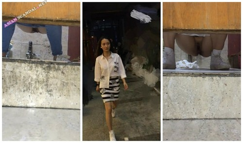 Chinese Lady In Toilet #27