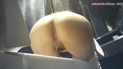 Chinese Lady In Toilet #29
