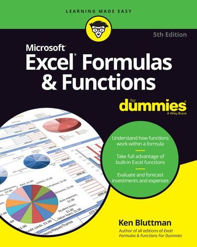 Microsoft Excel Formulas & Functions For Dummies, 5th Edition