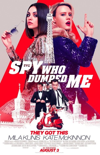 The Spy Who Dumped Me (2018) 720p BluRay x264 ESubs [Dual Audio][Hindi+English] -=!Dr STAR!=-