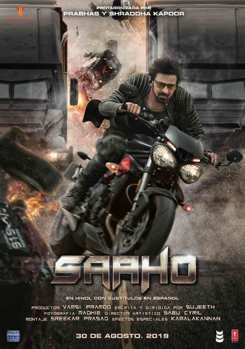 SAAHO (2019) Hindi (Org Vers) 1080p WEB-DL AVC DD5 1 ESub-BWT