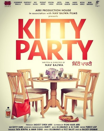 Kitty Party (2019) Punjabi 720p PreDVDRip x264 AAC-BWT Exclusive