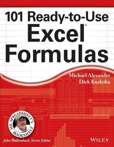 101 Ready-to-Use Excel Formulas (Mr  Spreadsheet's Bookshelf)