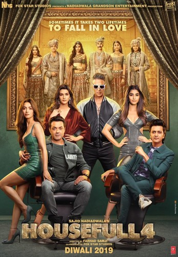 Housefull 4 (2019) 1080p HS WEBRip Opus Audio-Team DrC