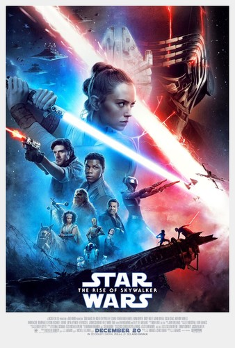 Star Wars The Rise of Skywalker (2019) 720p HDCAM-Rip x264 [Dual Audio][Hindi+English]