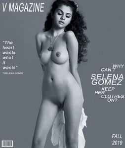 Selena Gomez full frontal nude for V magazine 2019 Fall UHQ