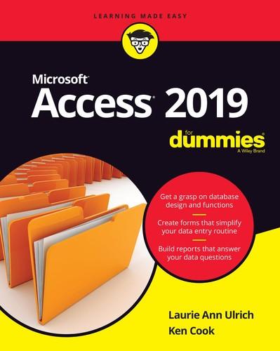Microsoft Access 2019 for Dummies
