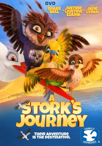 A Stork's Journey (2017) 720p BluRay x264 {Dual Audio} [Hindi+English] DREDD