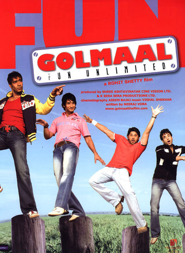 Golmaal Fun Unlimited 2006 1080p NF WEB-DL DD+5 1 H264-Dusictv