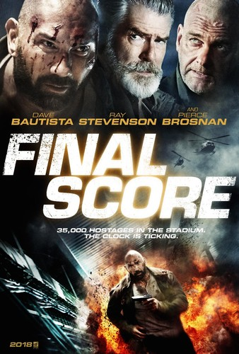 Final Score (2018) 720p BluRay x264 {Dual Audio} [Hindi+English] DREDD