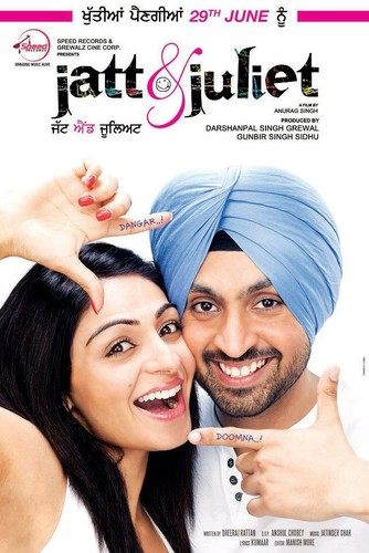 Jatt & Juliet (2012) UNCUT 720p DVDRip x264 ESubs [Dual Audio] [Hindi+Punjabi] -=!Dr STAR!=-