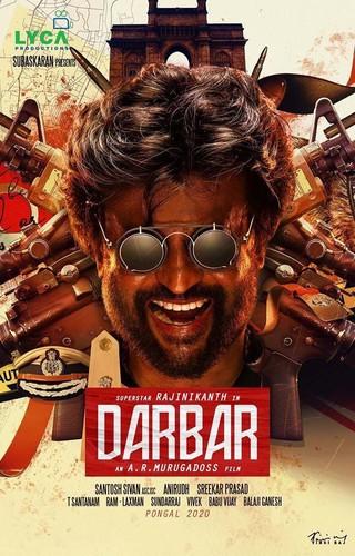Darbar (2020) 720p HDRip x264 [Multi Org Audios][Hindi+Telugu+Tamil+Malayalam]