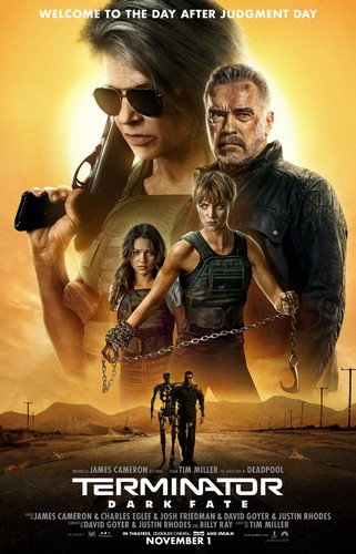 Terminator Dark Fate (2019) 720p HDRip x264 [Multi Line Audios][Hindi+Telugu+Tamil+English]