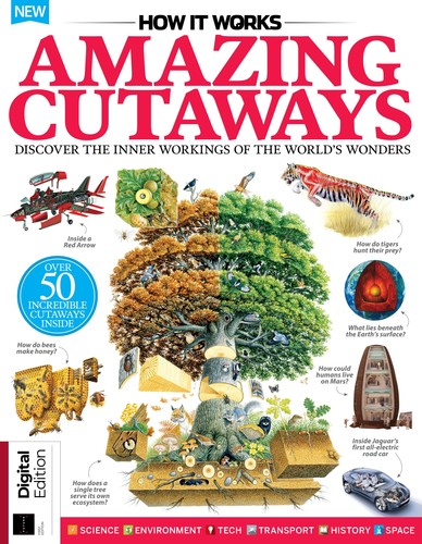 How It Works - Book of Amazing Cutaways - January 2020