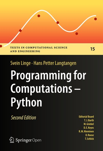 Programming for Computations
