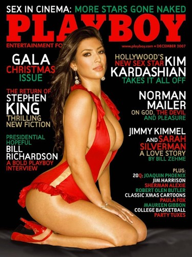 Playboy USA  - Kim Kardashian Nude Edition Magazine