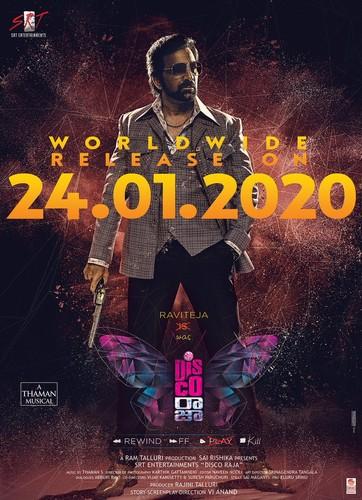 DISCO RAJA (2020) Telugu 720p PreDVD x264-TMV