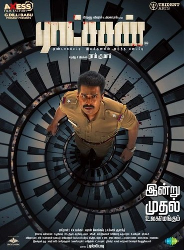 Ratsasan (2018) 720p UNCUT HDRip x264 ESubs [Dual Audio][Hindi+Tamil] -=!Dr STAR!=-