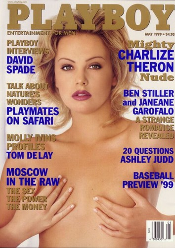 Playboy USA - Charlize Theron Nude Edition Magazine