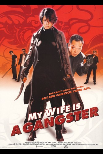 My Wife Is a Gangster (2001) UNCUT 720p WEBRip x264 ESubs [Dual Audio][Hindi+Korean]