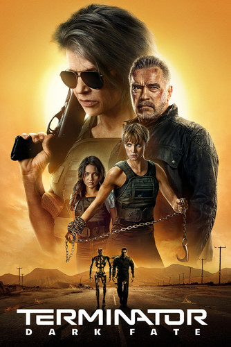 Terminator Dark Fate (2019) 720p BluRay x264 AAC 5 1 [Dual Audio][Hindi+English]