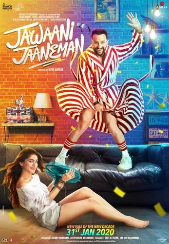 Jawaani Jaaneman (2020) 720p PreDVDRip x264 AAC-CV Exclusive