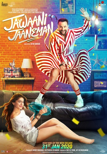 Jawaani Jaaneman (2020) PreDVDRip 720p AVC AAC [TMB]