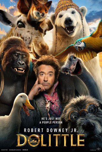 Dolittle (2020) 720p HDRip x264 [Multi Line Audios][Hindi+Telugu+Tamil+English]