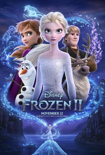 Frozen 2 (2019) 720p HDRip x264 [Multi Line Audios][Hindi+Telugu+Tamil+English]