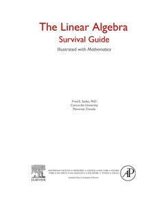 The Linear Algebra Survival Guide - Illustrated with Mathematica