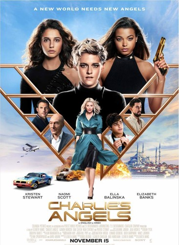 Charlie's Angels (2019) 720p WEB-DL x264 [Dual Audio][Hindi+English]