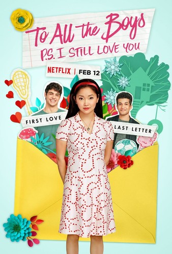 To All the Boys: P.S. I Still Love You (2020) 720p HDRip x264 [Dual Audio][Hindi+English]