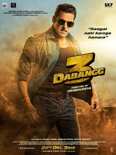 Dabangg 3 (2019) 720p WEB-DL x265 DD5 1-TT Exclusive