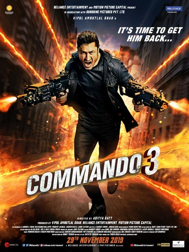 Commando 3 (2019) 1080p WEB-DL x264 AAC 2 0-TT Exclusive