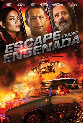 Escape from Ensenada (2017) 720p BluRay x264 [Multi Audios][Hindi+Telugu+Tamil+English]
