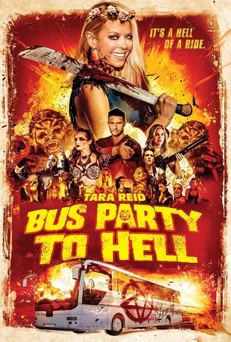 Party Bus To Hell (2017) 720p BluRay x264 [Multi Audios][Hindi+Telugu+Tamil+English]