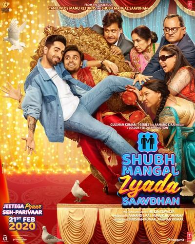 Shubh Mangal Zyada Saavdhan (2020) 720p PreDVDRip x264 AAC-CV Exclusive