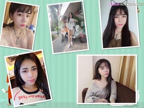 Hu Jiating Beautiful Girl