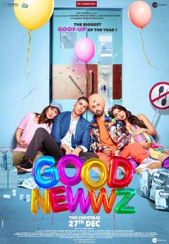 Good Newwz (2019) 720p WEB-DL H265 DD5 1-Team DUS