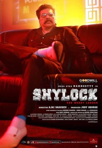 Shylock (2020) Malayalam 720p HDRip DD5 1 ESub-BWT