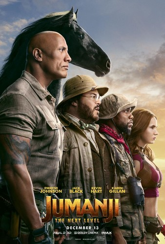 Jumanji The Next Level 2019 HDRip XviD AC3-EVO