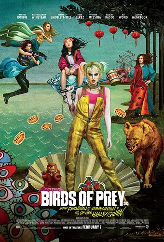 Birds of Prey And the Fantabulous Emancipation of One Harley Quinn 2020 1080p HC HDRip AC3 x264-CMRG