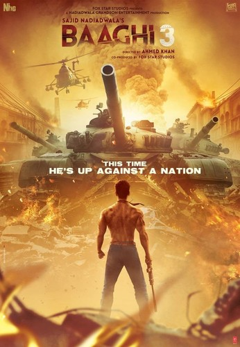 Baaghi 3 (2020) 720p HQ PreDVDRip x264 AAC-CV Exclusive