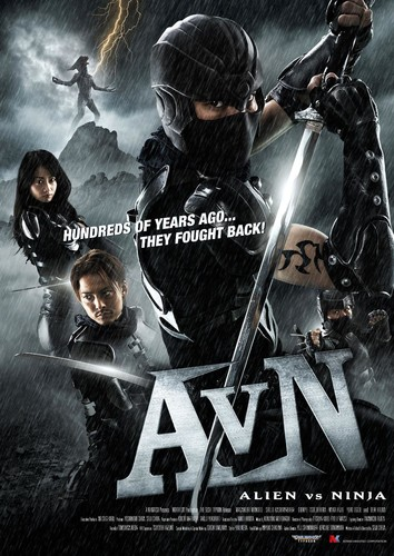 Alien vs Ninja (2011) 720p HDRip x264 [Multi Audio][Hindi+Telugu+Tamil+English]
