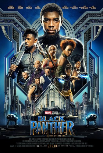 Black Panther (2018) 720p Blu-Ray x264 [Multi Audio][Hindi+Telugu+Tamil+English]