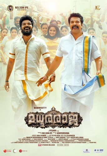 Madhura Raja (2019) UNCUT 720p WEB-DL x264 [Dual Audio][Hindi+Malayalam]
